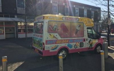 CJ Copner Ice Cream Vans  5