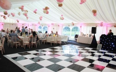 marquee hire