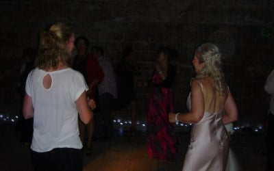 Dancing the night away with the Bride
