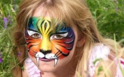 Derby Face and Body Painting 7