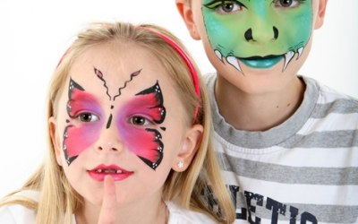 Derby Face and Body Painting 4
