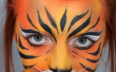 Derby Face and Body Painting 2