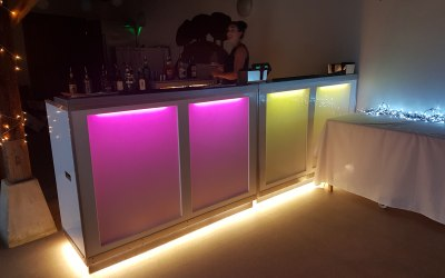 led mobile bar setup