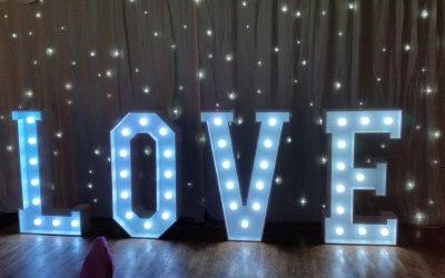 A. S. PARTY EVENTS Derbyshire wedding disco dj LOVE