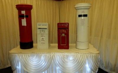A. S. PARTY EVENTS Derbyshire wedding disco dj post box hire