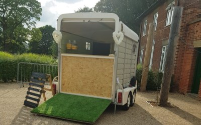 A. S. Party Events The Party Box, Prosecco, Welcome Drinks, Gin, Mobile Bar