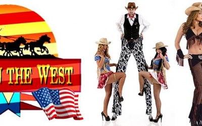 Stilt Walkers, Living Statues, Wild West Side Stalls, Theme Props