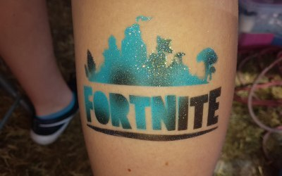 Fortnite tattoo