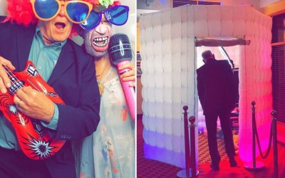 Octagon Inflatable LED Photo Booth