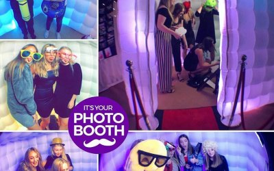 Cube Inflatable LED Photo Booth