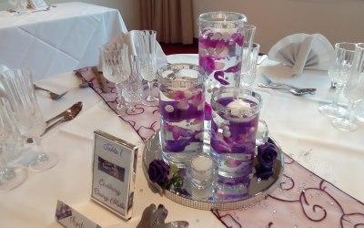 Tri vase centrepiece
