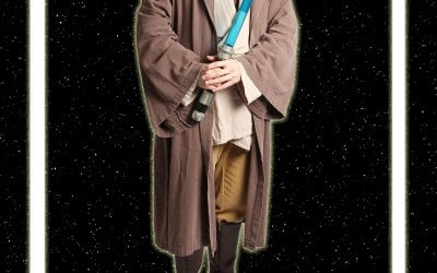 Andrew as Jedi Moss