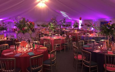 Oxford Event Hire. Moulsford Prep School.