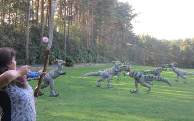 Jurassic archery at Robin Hood Events
