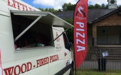 Little Dragon Pizza Van 1