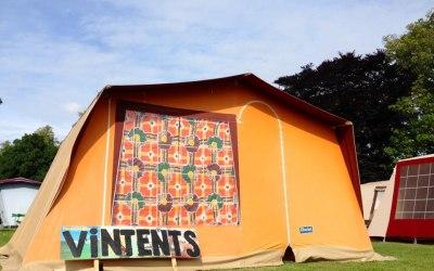 vintage tent hire