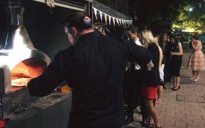 All Fired Up Pizzas - Leeds University Summer Ball