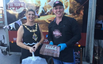 All Fired Up Pizzas - Oxley & Coward Solicitors - Rotherham Mayor