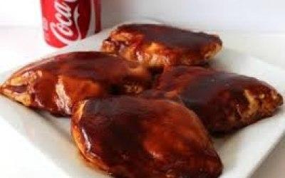 Coca Cola Bacon Wrapped Chicken Breast