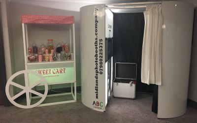 Photo booth & Sweet cart