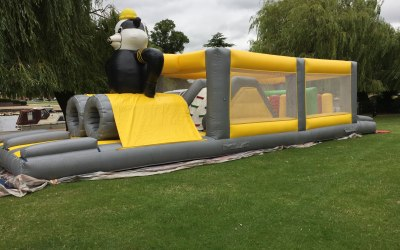 Panda assault course