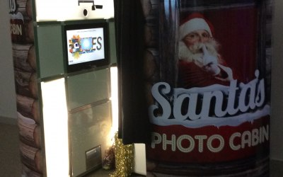 Santas Cabin Photo Booth