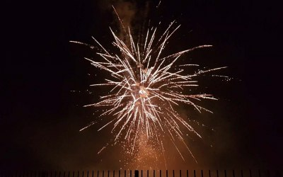 Create a magical fireworks display
