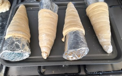 Bread cones made for events