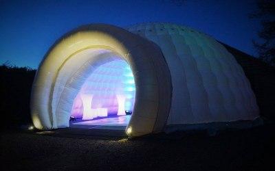 8m inflatable igloo