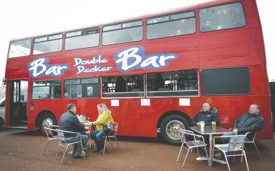 Outside Bus