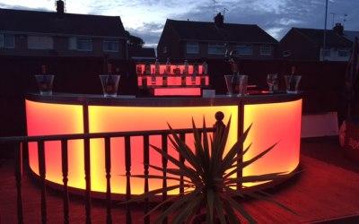 LED - Garden set up