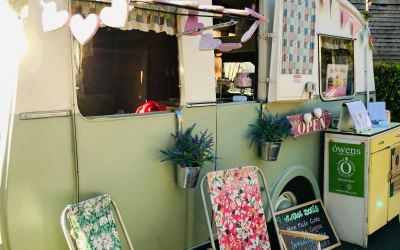 Doris - The Vintage Cafe Caravan 5
