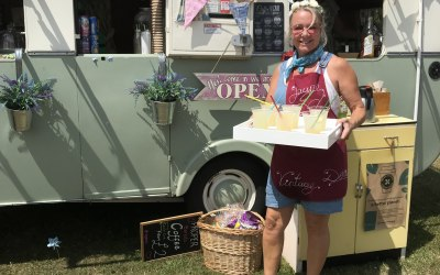 Doris - The Vintage Cafe Caravan 3