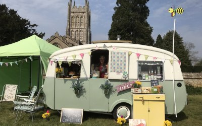 Doris - The Vintage Cafe Caravan 1