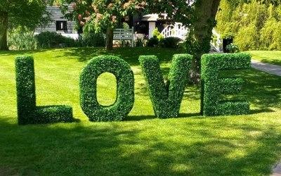 Topiary LOVE
