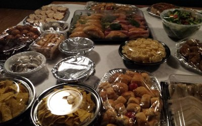 We also do delivered cold buffets
