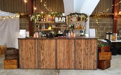 Our industrial reclaimed bespoke 9ft / 12ft bar
