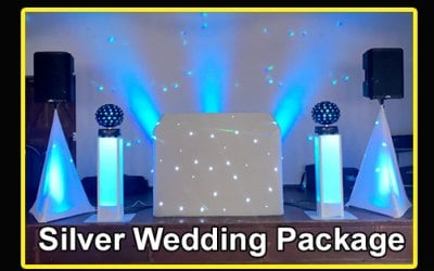 Silver Wedding Disco Package
