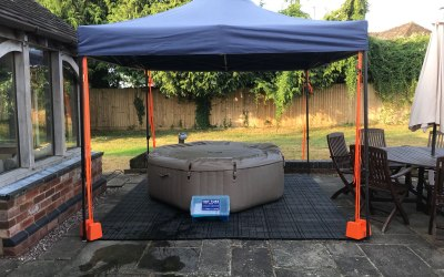 Standard Intex with gazebo