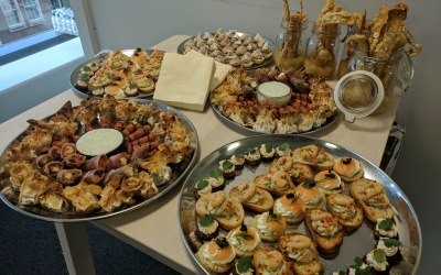 Typical Canape Selection