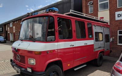 Our Vintage Fire truck - Food truck