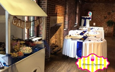 Wilma's Cupcakery Candy Cart