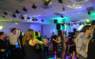 Disco Inferno Essex Engagement Crowd