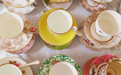 Vintage china hire Henley -on -Thames 2
