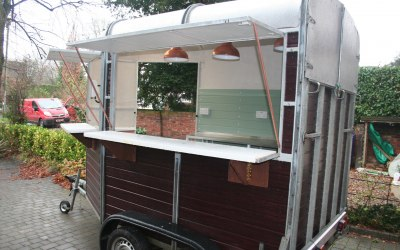 Our horsebox servery
