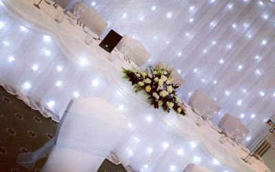 Turn your venue into something special with the starlights.