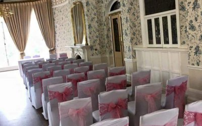 Self hire chair covers.Massive range of colour sashes.