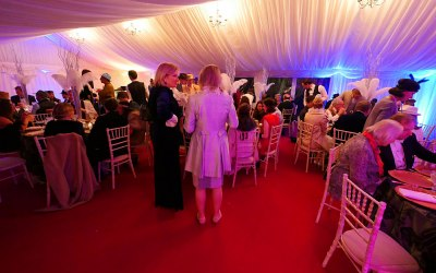Great Gatsby Lavish Marquee Interior