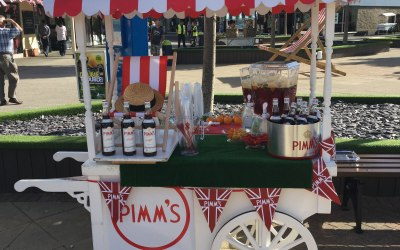 Pimms cart for hire