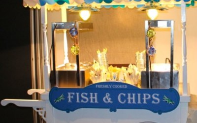 Fish & chips cart for that great brush summer event